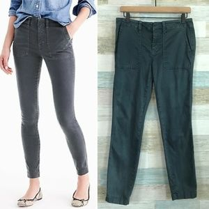 Skinny Cargo Pants Faded Gray J Crew